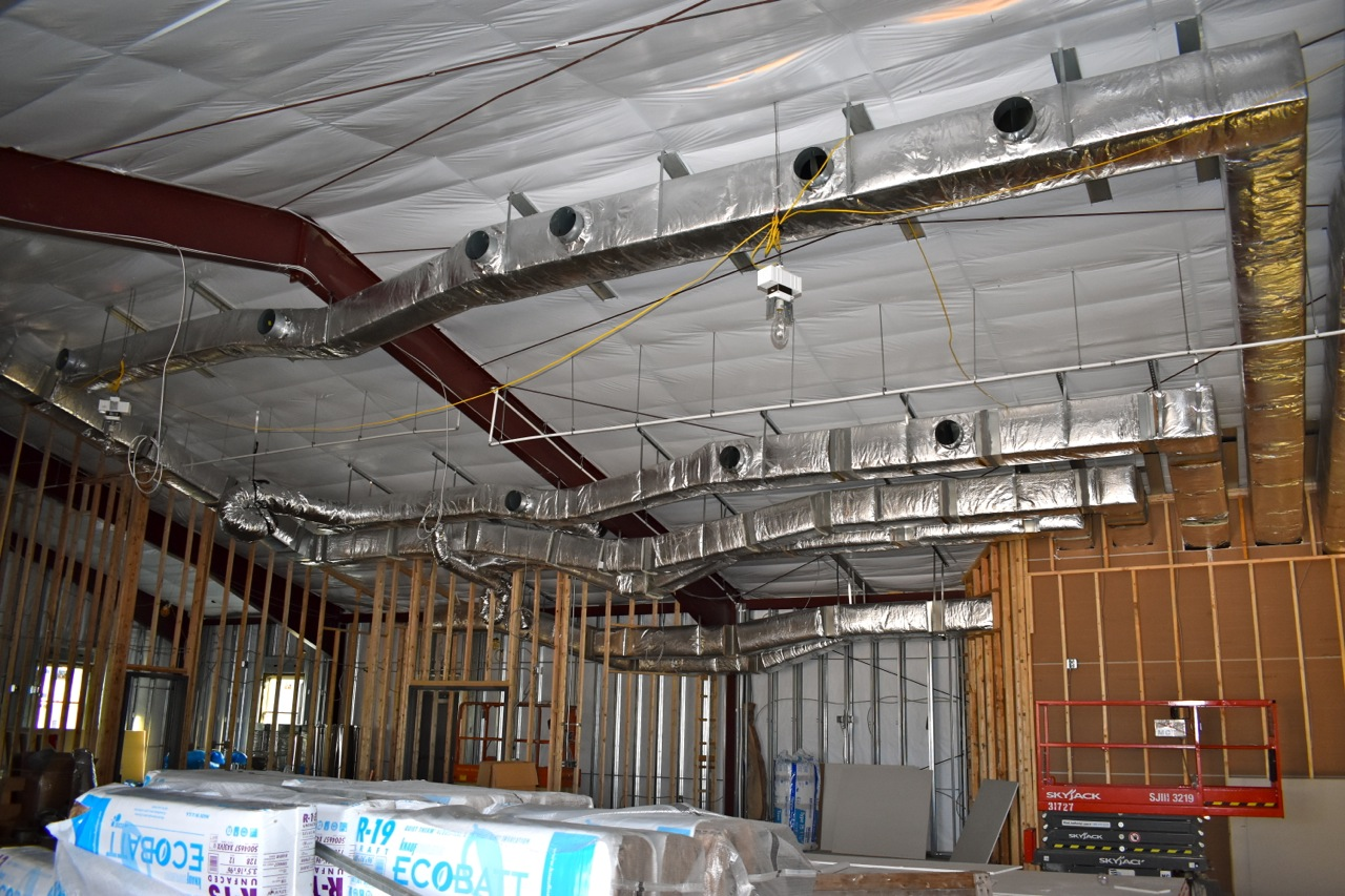 Ductwork Progress