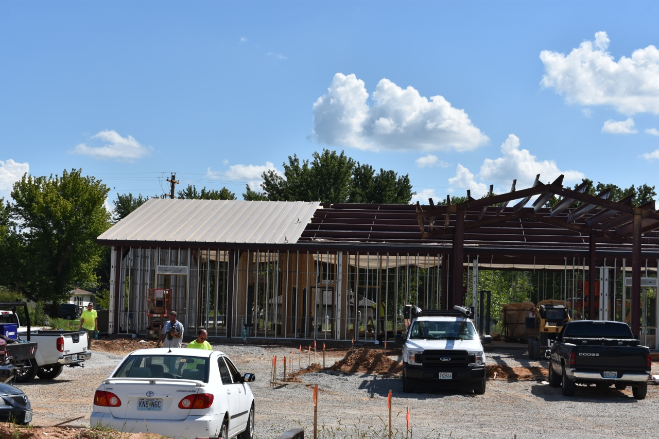 Roofing Started